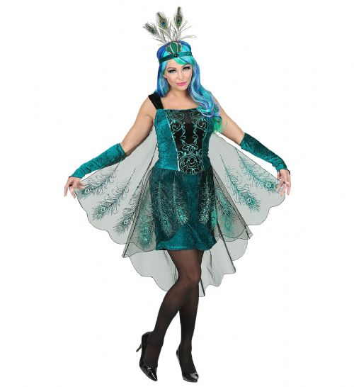 Adults Peacock Costume Animal Fancy Dress